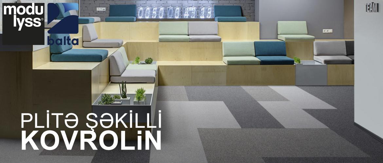 Plitə Şəkilli Kovrolin